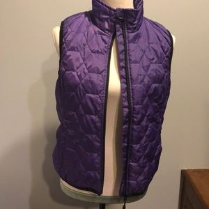 Marker thin weight vest purple size small